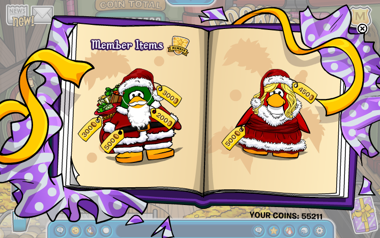 xmas9   Club Penguin Holiday Party 2012 Cheats