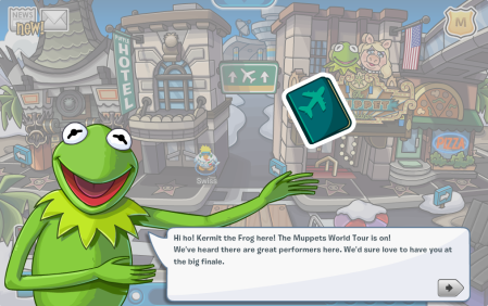 club penguin muppets cheats