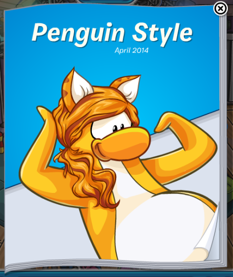 Club Penguin Cheats: Catalog - Penguin Style April 2014