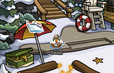 Club Penguin Cruise Ship Pin Cheat